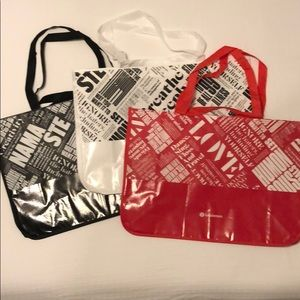 3 Extra Large Special Edition Lululemon Tote Bags